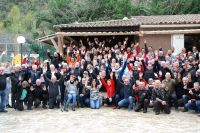 Rencontre Chevaliers De La Route 2018. La photo de groupe - photo JMarc Verguin